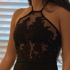 black lace Jumpsuite